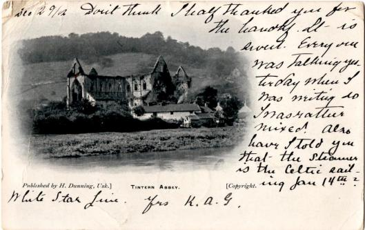 Tintern Abbey, 1902
